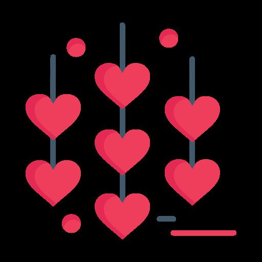 Chain, day, heart, love, valentine, valentines icon - Free download