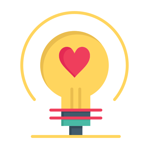 Bulb, day, heart, love, valentine, valentines, wedding icon - Free download