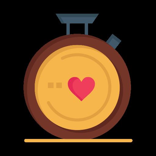 compass, day, heart, love, valentine, valentines, wedding icon