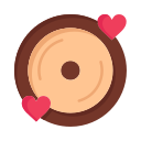 day, disk, heart, love, valentine, valentines, wedding icon