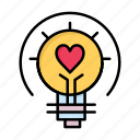 bulb, day, light, love, tips, valentine, valentines