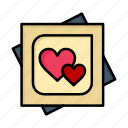 card, day, heart, love, marriage, proposal, valentine, valentines icon