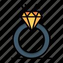 day, diamound, love, marriage, proposal, ring, valentine, valentines icon