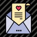 card, day, letter, love, mail, proposal, valentine, valentines, wedding icon
