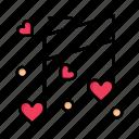 day, heart, love, music, valentine, valentines, wedding