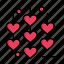 chain, day, heart, love, valentine, valentines