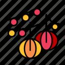 balls, day, decoration, hanging, lantern, love, valentine, valentines