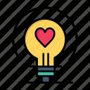 bulb, day, heart, love, valentine, valentines, wedding