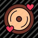 day, disk, heart, love, valentine, valentines, wedding