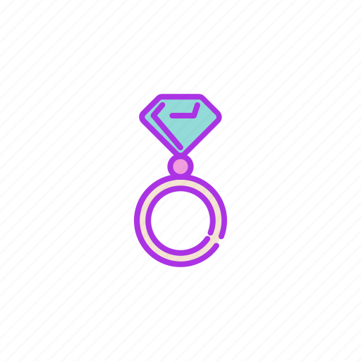 accessory, diamond, gift, jewel, jewelry, ring, valentine icon