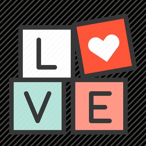 love, sign, valentine icon