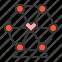 ferris wheel, love, valentine, romance, romantic