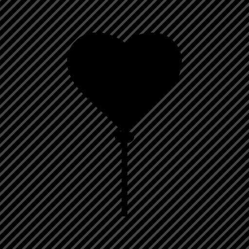 baloon, heart, love, valentine icon