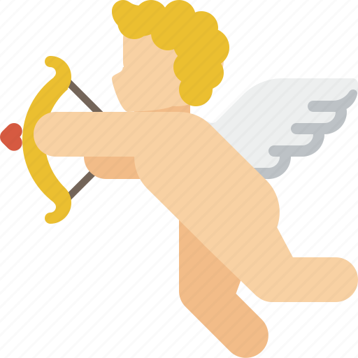 Angel, arrow, cupid, falling in love, love, valentine, valentines icon - Download on Iconfinder