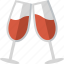 celebration, cheers, drink, drinks, toast, toasting, wine icon