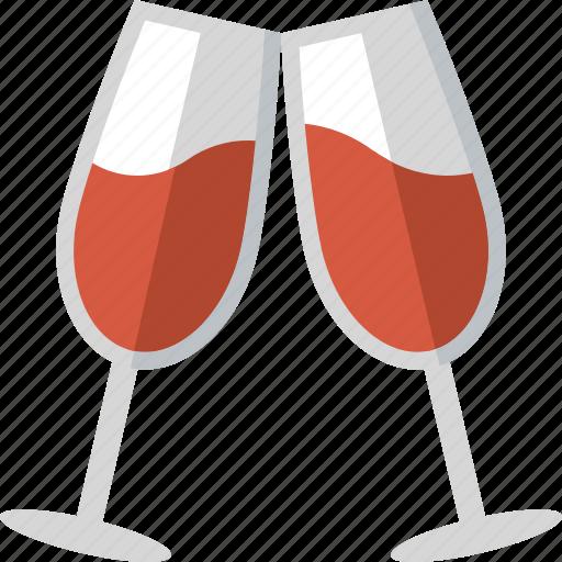 celebration, cheers, drink, drinks, toast, toasting, wine icon