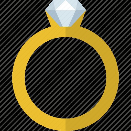 diamond, jewelry, marriage, proposal, propose, ring, wedding icon