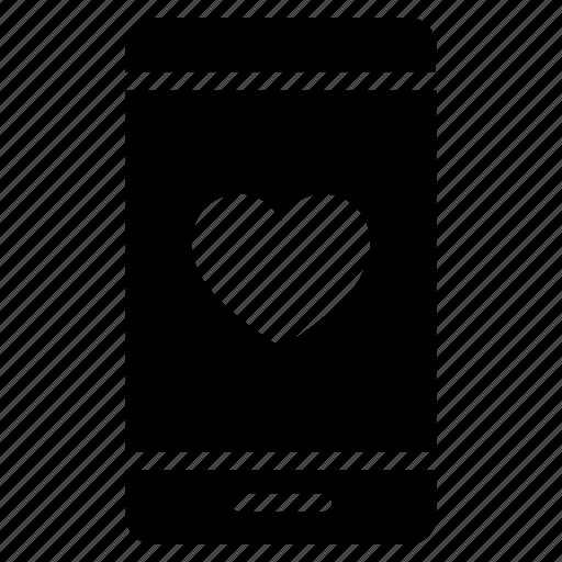 Valentine, love, heart, smartphone, message icon - Download on Iconfinder