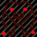 heart, happy, love, and, romance