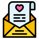 open, email, love, letter, heart, and, romance