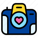 camera, photo, heart, love, and, romance