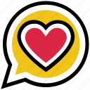 chat, heart, love, message, private, romance, valentine's day