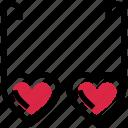 glasses, heart, heart glasses, love, shades, sunglasses, valentine's day