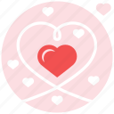 falling, in love, love, sweet, valentine, valentine's day icon