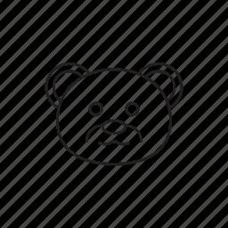 bear, love, tady, toy, valentine icon