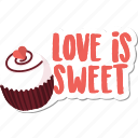 cake, day, food, love, sweet, valentine icon