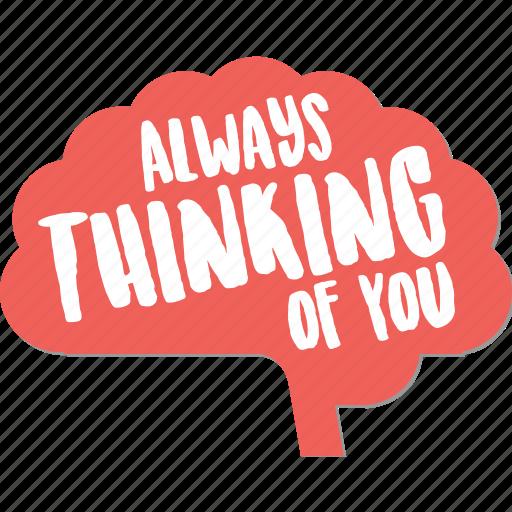 Brain, day, love, mind, thinking, valentine icon - Download on Iconfinder