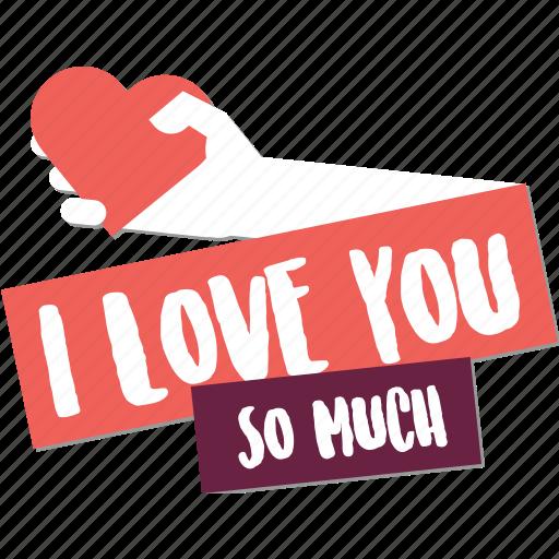 Badge, day, hand, heart, love, valentine, web icon - Download on Iconfinder