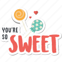 candy, day, heart, holiday, love, sweet, valentine icon