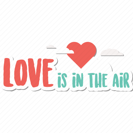 air, day, heart, holiday, love, valentine, wedding icon