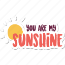 day, love, message, romance, sunshine, valentine, wedding icon