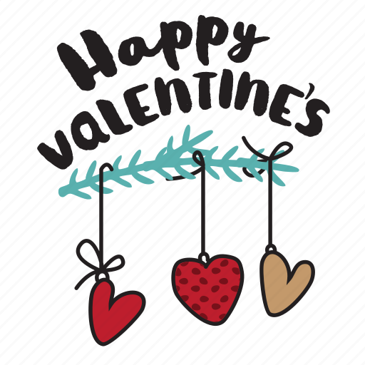 day, heart, holiday, love, message, valentine icon