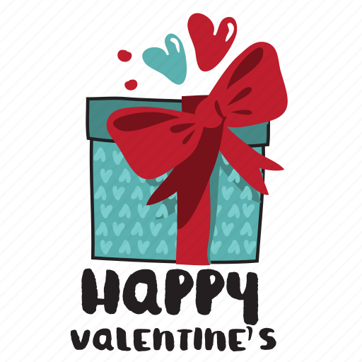 day, gift, heart, holiday, love, present, valentine icon