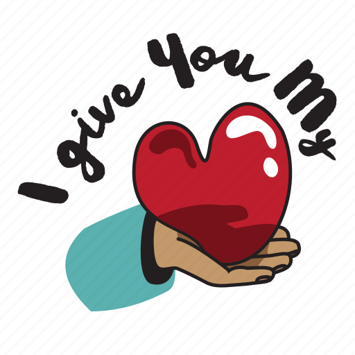 Day, hand, heart, holiday, love, valentine, wedding icon - Download on Iconfinder