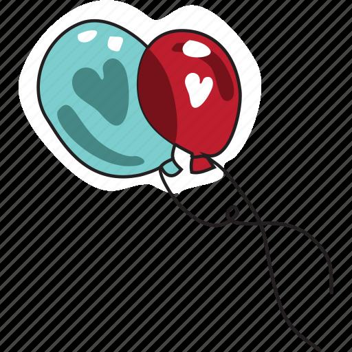 baloon, day, heart, holiday, love, valentine, wedding icon