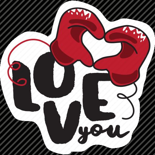 day, hands, heart, love, sign, valentine icon