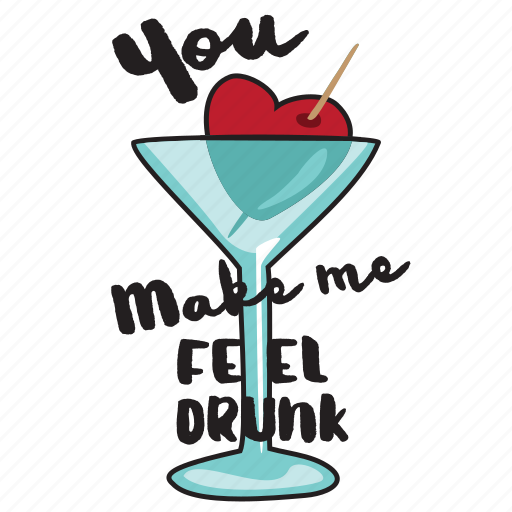 day, drink, glass, heart, holiday, love, valentine icon