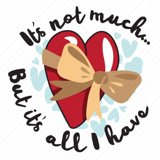 day, gift, heart, holiday, love, message, vaalentine icon