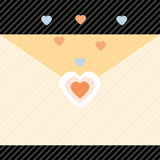 heart, love, message, valentine's day, valentines icon