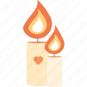 heart, love, romantic, valentine's day, valentines icon