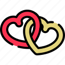 love, lovers, married, valentine's icon