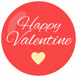happy, heart, valentine, valentine's day, wishes icon