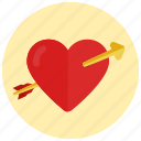 dating, heart, love, valentine, valentine's day icon