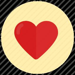 heart, love, romance, valentine, valentine's day icon