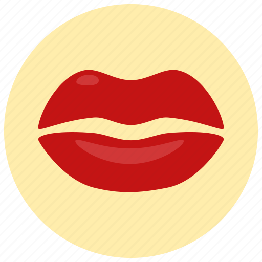kiss, lips, love, sexy, valentine, valentine's day icon