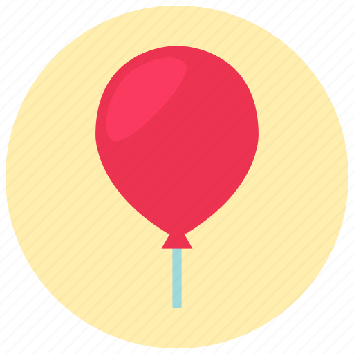 ballon, party, valentine icon